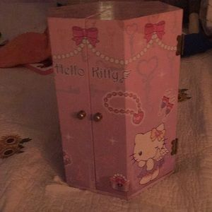 Kids hello kitty jewelry box